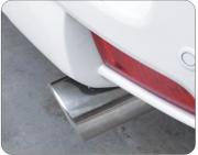 Насадка на глушитель для Toyota Prado 150 (2018 - ... )
