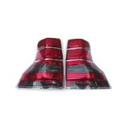 Задние фонари диодные темные для Toyota Prado 150 (2009 - ...)