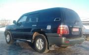Хром на люк бензобака для Toyota Land Cruiser 100 (98 - 2006)