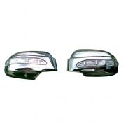 Хром на зеркала с повторителями поворотов для Hyundai Tucson (2004 - 2014)
