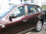 Накладки на дверные ручки для Hyundai Santa Fe (2006 - 2012)
