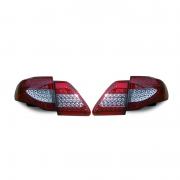 Задние фонари диодные (светлые) для Toyota Corolla (2007 - 2012)