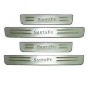 Накладки на порог дверей для Hyundai Santa Fe (2006 - 2012)