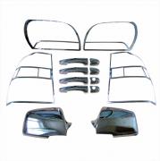Хром пакет (2009+) для Kia Sportage II (2005 - 2009)