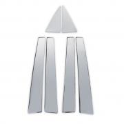 Накладки на стойки дверей для Kia Sportage II (2005 - 2009)
