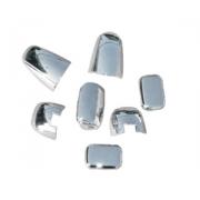 Хромированные накладки на заднее стекло для Kia Sorento (2003 - 2009)
