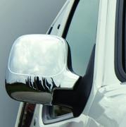 Хромированные накладки на зеркала для Citroen Berlingo (1996 - 2008)