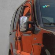 Хром накладки на зеркала для Fiat Doblo (2001 - 2009)