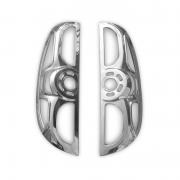 Хром на задние стопы для Fiat Doblo (2010 - ...)