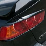 Ресницы на задние фонари для Mitsubishi Lancer X (2007 - ...)