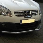 Дуга вдоль бампера для Nissan Qashqai (2007 - 2014)