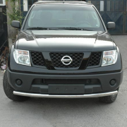 Дуга вдоль бампера для Nissan Pathfinder (2005 - 2010)