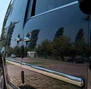 Хром молдинг дверей для Volkswagen Caddy (2004 - 2010)