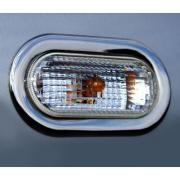 Хром накладки на повторители поворотов для Volkswagen Caddy (2004 - 2010)