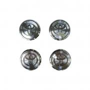 Колпачки в диски хромированные для Toyota Camry 40 (2006 - 2011)
