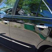 Накладки на ручки дверей нержавейка для Toyota Camry 40 (2006 - 2011)