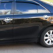 Хром накладки под ручки для Toyota Camry 40 (2006 - 2011)