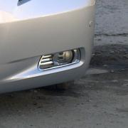 Хром накладки на противотуманки для Toyota Camry 40 (2006 - 2011)