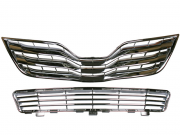 Решетки радиатора и бампера оригинал (с 2010 года) для Toyota Camry 40 (2006 - 2011)