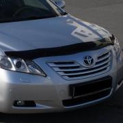 Дефлектор капота (мухобойка) для Toyota Camry 40 (2006 - 2011)