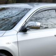 Накладки на зеркала с повторителями поворотов для Toyota Camry 40 (2006 - 2011)