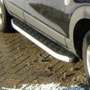 Боковые пороги для Mitsubishi Outlander XL (2007 - ...)