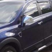 Хром накладки на зеркала для Chevrolet Captiva (2006 - ...)