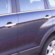 Хром накладки на ручки дверей для Chevrolet Captiva (2006 - ...)