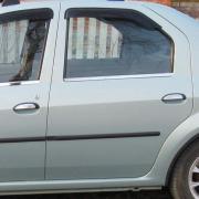 Хром на ручки дверей для Dacia Logan sedan (2005 - ...)