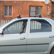 Нижние молдинги окон для Dacia Logan sedan (2005 - ...)