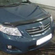 Дефлектор капота (мухобойка) для Toyota Corolla (2007 - 2012)