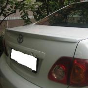 Спойлер на край крышки багажника для Toyota Corolla (2007 - 2012)