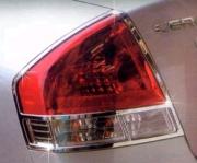 Хром задних фонарей с 2007 года для Kia Cerato (2005 - 2009)