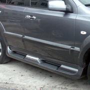 Боковые пороги для Kia Sorento (2003 - 2009)