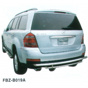 Дуга заднего бампера прямая для Mercedes GL X164 (2006 - 2012)