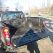 Корыто в багажник (на борт) для Mitsubishi L200 (2006 - 2015)