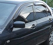 Ветровики для Mitsubishi Lancer IХ (2003 - 2006)