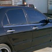 Нижние молдинги окон для Mitsubishi Lancer IХ (2003 - 2006)