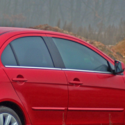 Нижние молдинги стекол для Mitsubishi Lancer X (2007 - ...)