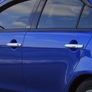 Хром накладки на ручки дверей для Mitsubishi Lancer X (2007 - ...)