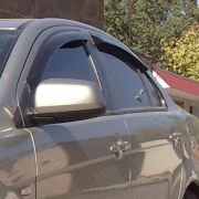 Ветровики для Mitsubishi Lancer X (2007 - ...)