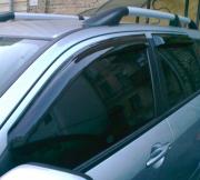Ветровики (дефлекторы окон) для Mitsubishi Outlander (2003 - 2006)