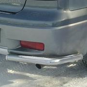 Углы заднего бампера для Mitsubishi Outlander (2003 - 2006)