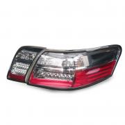 Задние фонари диодные (хромовые) для Toyota Camry 40 (2006 - 2011)