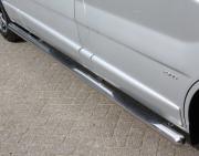 Боковые пороги (трубы) для Renault Trafic (2004 - 2010)