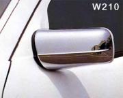 Хром на зеркала для Mercedes W210 (1995 - 2002)