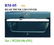 Хром планка багажника над номером для Mercedes W210 (1995 - 2002)