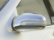 Хром на зеркала для Mercedes W220 (1998 - 2006)