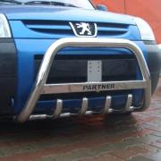 Кенгурятник для Peugeot Partner (2002 - 2008)