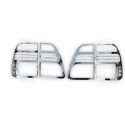 Хром на задние фонари (98 - 2005) для Toyota Land Cruiser 100 (98 - 2006)